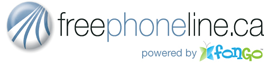 freephoneline.ca - powered by Fongo