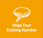 Keep Your Existing Number